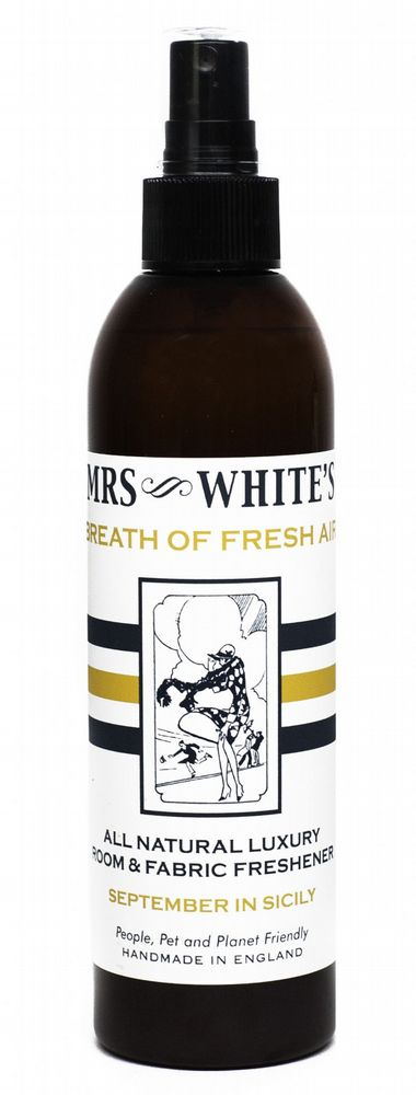 Mrs White's - Breath of Fresh Air - September in Sicily (Fabric Freshener)